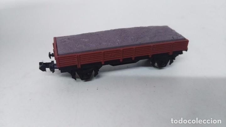 Trenes Escala: antiguo vagon de tren ibertren escala n carga grava - Foto 4 - 76858679