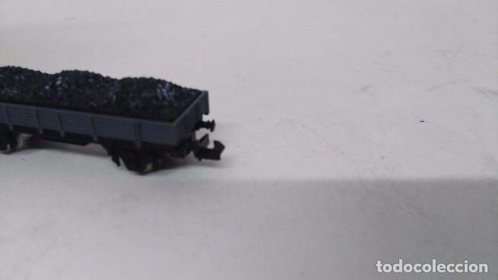 Trenes Escala: antiguo vagon de tren ibertren escala n carga grava - Foto 3 - 76858747