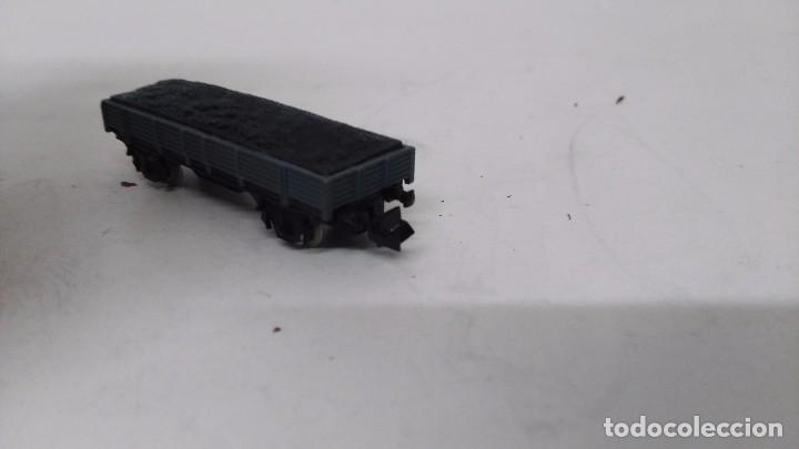 Trenes Escala: antiguo vagon de tren ibertren escala n carga grava - Foto 3 - 76859523