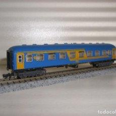 Trenes Escala: IBERTREN N PASAJEROS NUEVA IMAGEN 2ª (CON COMPRA DE 5 LOTES O MAS ENVÍO GRATIS). Lote 89450020