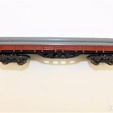 Trenes Escala: IBERTREN VAGÓN BORDE BAJO TUBOS. Lote 90372252