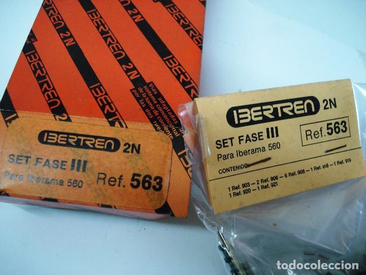 Usado, IBERTREN ESCALA N: SET FASE III PARA IBERAMA 560 . ¡¡NUEVO!! ORIGINAL. AÑOS 80 segunda mano