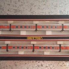 Trenes Escala: IBERTREN. VAGONES TALGO ESCALA N REFERENCIA 280 AÑOS 80. SIN USO. Lote 93072585