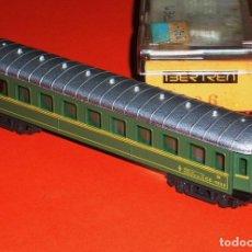 Trenes Escala: VAGÓN COCHE PASAJEROS 3ª CLASE C.C. 1000 RENFE REF. 226, IBERTREN ESC. N, ORIGINAL AÑOS 80.. Lote 93170008