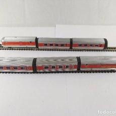 Trenes Escala: LOTE DE 6 VAGONES TRANS EUROP EXPRESS TALGO RENFE IBERTREN ESCALA N. Lote 95817739