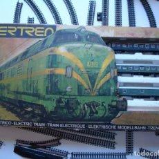 Trenes Escala: GRAN LOTE IBERTREN COMPLETO.TREN,VIAS,TRANSFORMADOR,DOCUMENTOS.. Lote 95866607