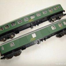 Trenes Escala: ANTIGUA PAREJA DE VAGONES RENFE IBERTREN ESCALA N. Lote 99410667