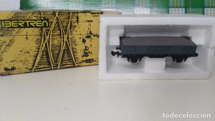 Trenes Escala: antiguo vagon escala n ibertren vagon borde medio con grava - Foto 2 - 97620635