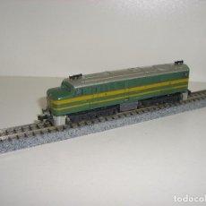 Trenes Escala: IBERTREN 2N LOCOMOTORA ALCO 1800 (CON COMPRA DE 5 LOTES O MAS ENVÍO GRATIS) JUAN PALMA. Lote 98147983