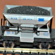 Trenes Escala: VAGONETA DE MINAS ALUMINIO DE IBERTREN, REF. 465, ESCALA N.. Lote 99901563