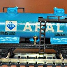 Trenes Escala: VAGÓN CISTERNA ARAL DE IBERTREN, REF. 356, ESCALA N. Lote 99901947
