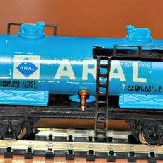 Trenes Escala: VAGÓN CISTERNA ARAL DE IBERTREN, REF. 356, ESCALA N. Lote 99953115