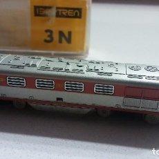 Trenes Escala: IBERTREN LOCOMOTORA DIESEL VIRGEN DEL CARMEN. REF 026. ESCALA 3N. CON CAJA ORIGINAL.. Lote 100447019