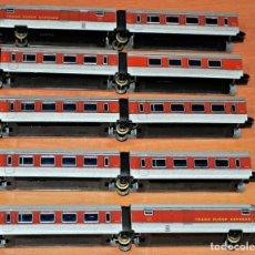 Trenes Escala: CONVOY TALGO DE 10 UNIDADES DE IBERTREN, REF. 280 Y 283, ESCALA N. Lote 101770727