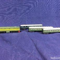 Trenes Escala: LOCOMOTORA VAGONES DIESEL IBERTREN RENFE 2161 ALCO 2100 AÑOS 70 ESPAÑA. Lote 103014623
