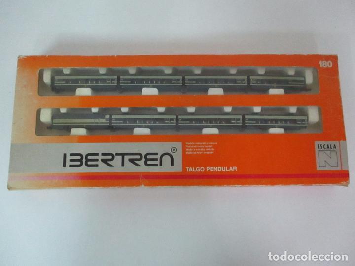 TREN TALGO PENDULAR - IBERTREN - ESCALA N - REF 180 - CON CAJA (Juguetes - Trenes a escala N - Ibertren N)