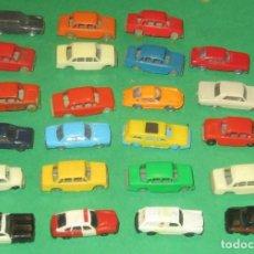 Trenes Escala: AUTOMOVILES METALICOS Y DE PLASTICO ESCALA N EKO, IBERTREN GERMANY. Lote 105345279