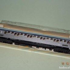 Trenes Escala: ANTIGUO COCHE CAMA INOXIDABLE SERIE P EN ESCALA *N* REF. 214 DE IBERTREN. Lote 105949055