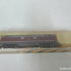 Trenes Escala: IBERTREN - TREN - LOCOMOTORA MAQUINA DIÉSEL BB - ESCALA 3N - REF 019 - CAJA ORIGINAL. Lote 106732191