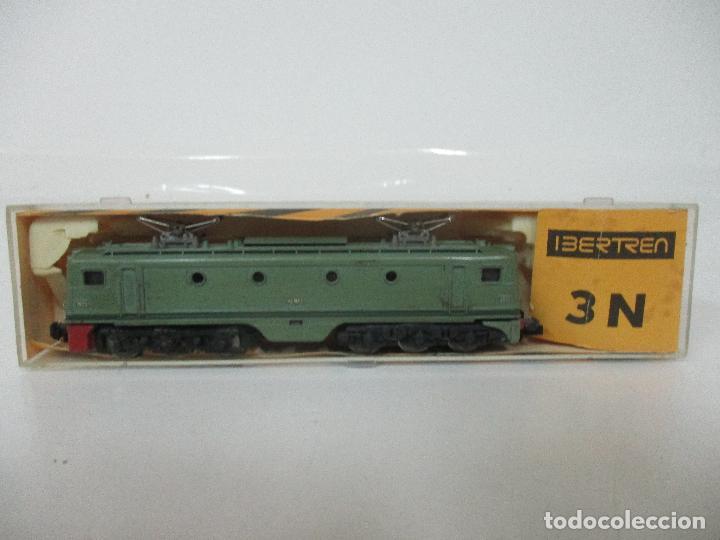 Trenes Escala: Ibertren - Tren - Locomotora Electrica Alsthom, Renfe - Escala N - Ref 014 - Caja Original - Foto 2 - 106732979