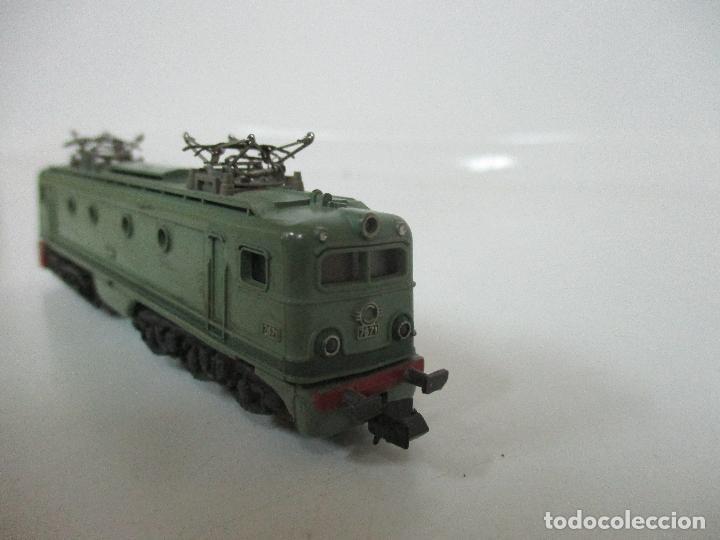 Trenes Escala: Ibertren - Tren - Locomotora Electrica Alsthom, Renfe - Escala N - Ref 014 - Caja Original - Foto 4 - 106732979