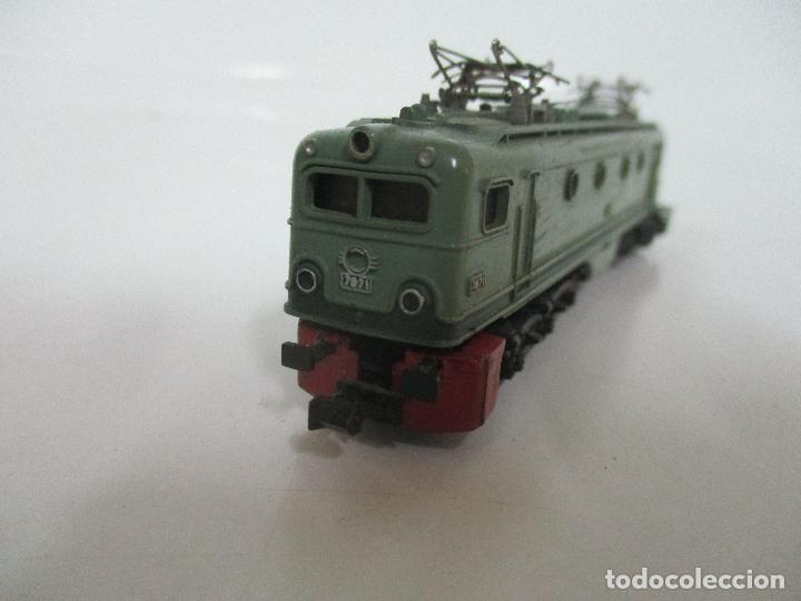 Trenes Escala: Ibertren - Tren - Locomotora Electrica Alsthom, Renfe - Escala N - Ref 014 - Caja Original - Foto 6 - 106732979