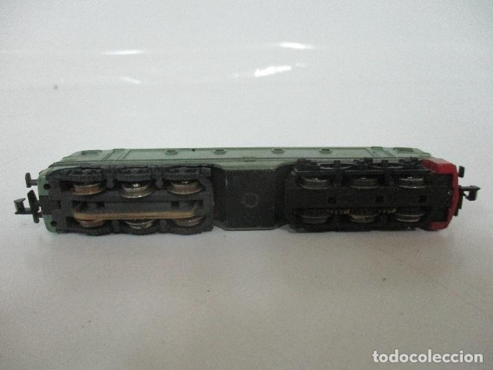 Trenes Escala: Ibertren - Tren - Locomotora Electrica Alsthom, Renfe - Escala N - Ref 014 - Caja Original - Foto 9 - 106732979