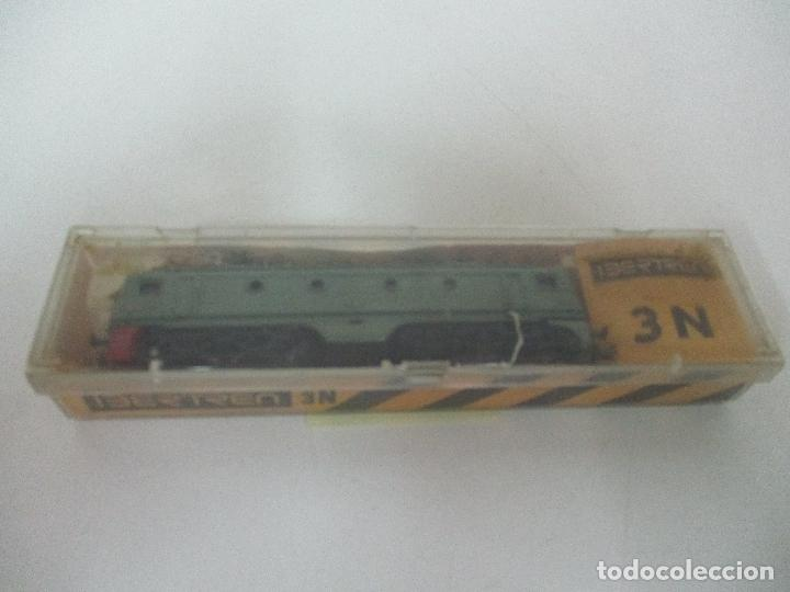 Trenes Escala: Ibertren - Tren - Locomotora Electrica Alsthom, Renfe - Escala N - Ref 014 - Caja Original - Foto 11 - 106732979