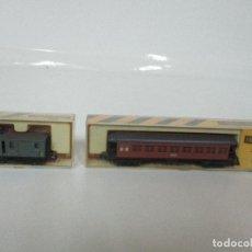 Trenes Escala: IBERTREN - TREN - VAGONES - VAGÓN PASAJEROS, MATARO - ESCALA N - REF 222, 223 - CAJA ORIGINAL. Lote 106734815