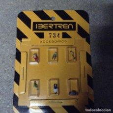 Trenes Escala: BLISTER 6 PERSONAJES IBERTREN N. Lote 137335173