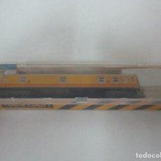 Trenes Escala: VAGÓN IBERTREN - VAGÓN CORREOS AMARILLO - RENFE - 4 EJES - REF 225 - ESCALA N - CON CAJA ORIGINAL. Lote 111030431