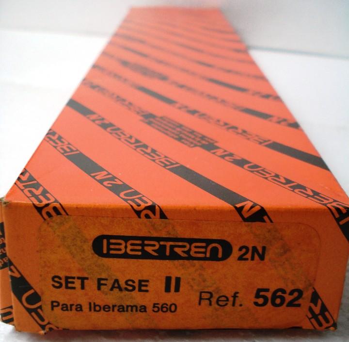 IBERTREN ESCALA N: SET FASE II PARA IBERAMA 560 . ¡¡NUEVO!! ORIGINAL. AÑOS 80 segunda mano