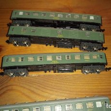 Trenes Escala: IBERTREN - LOTE DE VARIOS ACCESORIOS, TRENES, ETC. VER FOTOS.. Lote 111415227