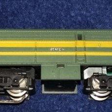 Trenes Escala: IBERTREN. LOCOMOTORA DIESEL ALCO RENFE SIN JUGAR REF. 012 ESCALA N AÑO 1974. Lote 112282107