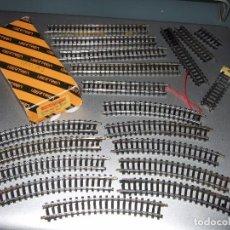 Trenes Escala: RECTAS Y CURVAS DE IBERTREN 3N (USADAS). Lote 112671755
