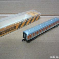 Trenes Escala: VAGON IBERTREN AÑOS 70. Lote 113093243