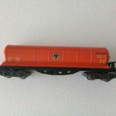 Trenes Escala: VAGÓN GAS BUTANO IBERTREN ESCALA N. Lote 113094359