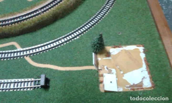 Trenes Escala: PRECIOSO DIORAMA O MAQUETA IBERTREN MUY COMPLETA AÑOS 70. ESCALA N - Foto 3 - 114217251