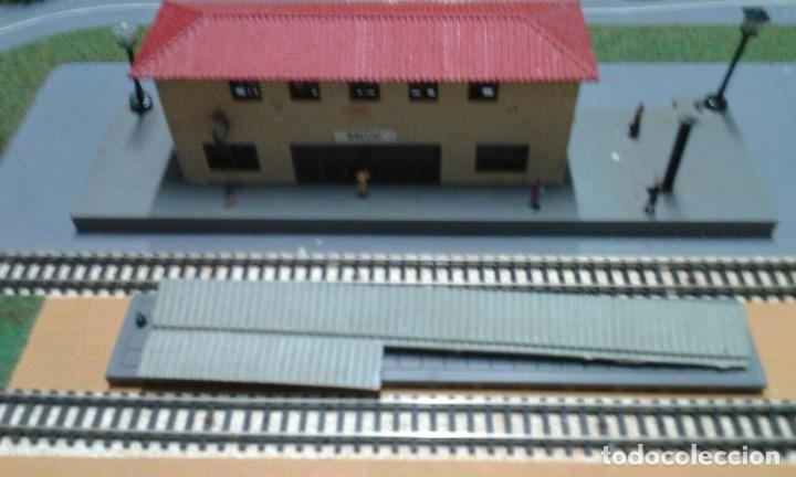 Trenes Escala: PRECIOSO DIORAMA O MAQUETA IBERTREN MUY COMPLETA AÑOS 70. ESCALA N - Foto 4 - 114217251