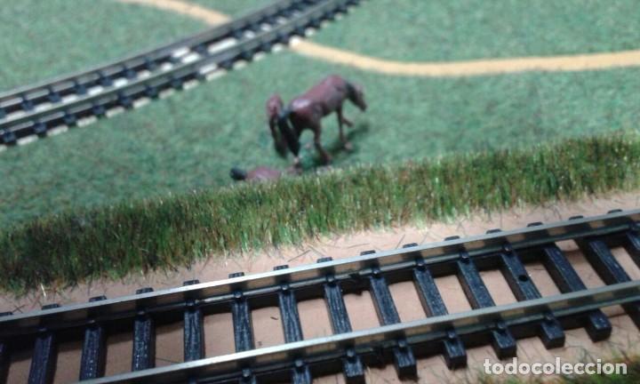 Trenes Escala: PRECIOSO DIORAMA O MAQUETA IBERTREN MUY COMPLETA AÑOS 70. ESCALA N - Foto 8 - 114217251