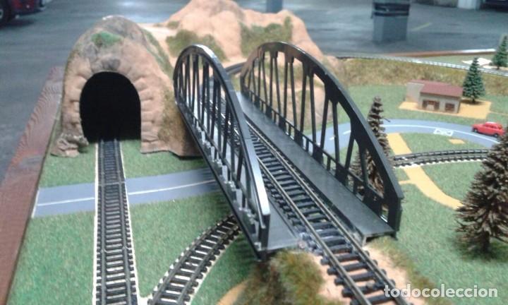 Trenes Escala: PRECIOSO DIORAMA O MAQUETA IBERTREN MUY COMPLETA AÑOS 70. ESCALA N - Foto 10 - 114217251