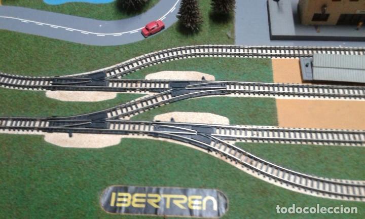 Trenes Escala: PRECIOSO DIORAMA O MAQUETA IBERTREN MUY COMPLETA AÑOS 70. ESCALA N - Foto 11 - 114217251