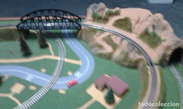Trenes Escala: PRECIOSO DIORAMA O MAQUETA IBERTREN MUY COMPLETA AÑOS 70. ESCALA N - Foto 12 - 114217251