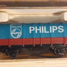 Trenes Escala: VAGÓN CON TOLDO PHILIPS IBERTREN N 316. Lote 114493630