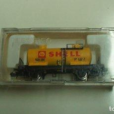 Trenes Escala: IBERTREN VAGON CISTERNA SHELL, REF 352 CON CAJA .. Lote 115724771