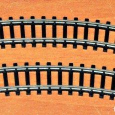 Trenes Escala: LOTE 2 VÍAS CURVAS 24º R-194,6 MM DE IBERTREN. ESCALA N. Lote 118184207