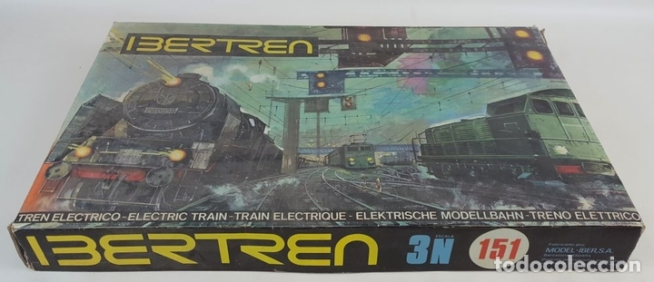 Trenes Escala: GRAN LOTE DE IBERTREN. ESC N. ESPAÑA. CIRCA 1970. - Foto 3 - 118913655