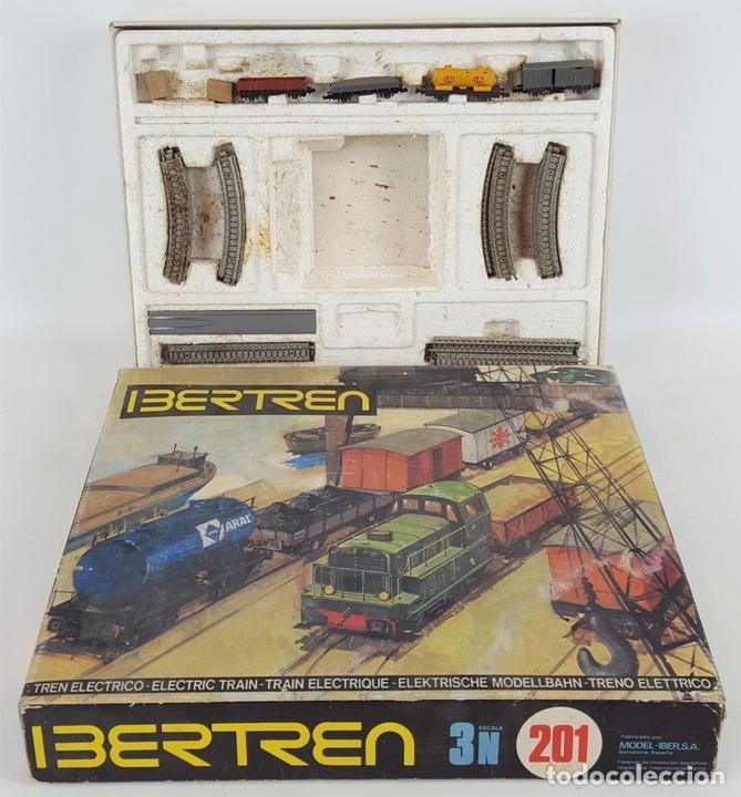 Trenes Escala: GRAN LOTE DE IBERTREN. ESC N. ESPAÑA. CIRCA 1970. - Foto 7 - 118913655