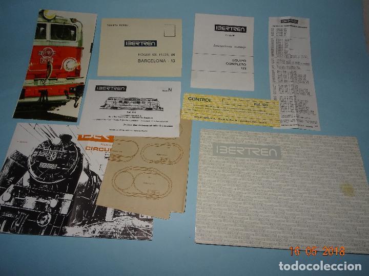 Trenes Escala: Antigua Caja Equipo Ref. 133 en Escala *3-N* de IBERTREN - Año 1970s. - Foto 2 - 121188351