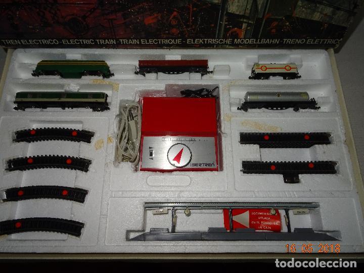 Trenes Escala: Antigua Caja Equipo Ref. 133 en Escala *3-N* de IBERTREN - Año 1970s. - Foto 15 - 121188351